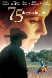 75 Degrees in July poster
