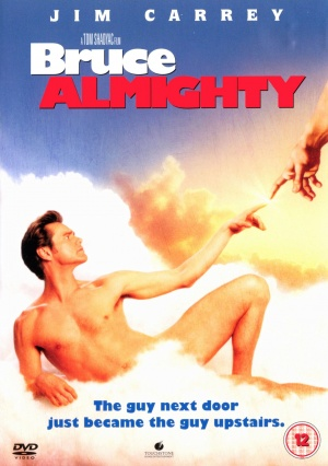 Bruce Almighty Dvd cover