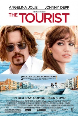 The Tourist Video release poster