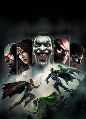 Injustice Key art