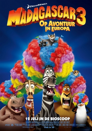 Madagascar 3: Europe's Most Wanted 2362x3374