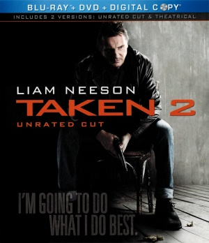 Taken 2 Blu-ray cover