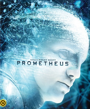 Prometheus Blu-ray cover