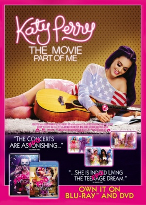 Katy Perry: Part of Me Video release poster