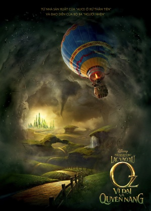 Oz the Great and Powerful 732x1024