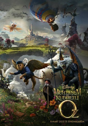 Oz the Great and Powerful 630x897