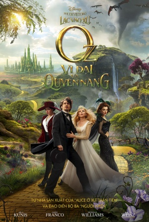 Oz the Great and Powerful 689x1024