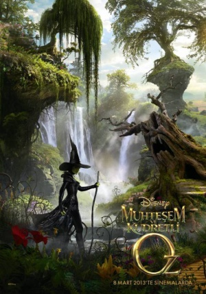 Oz the Great and Powerful 630x900