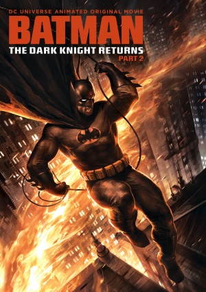 Batman: The Dark Knight Returns, Part 2 Dvd cover