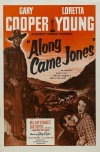 Along Came Jones Poster