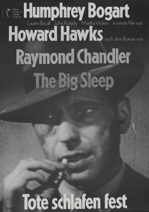 The Big Sleep Re-release poster