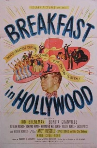Breakfast in Hollywood poster