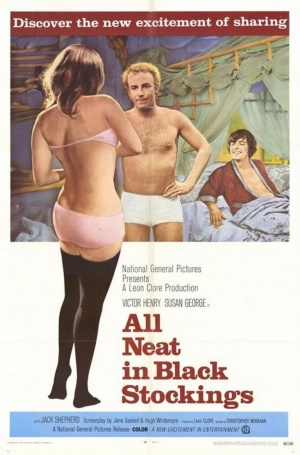 All Neat in Black Stockings 666x1009
