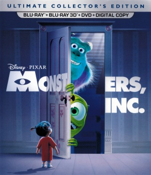 Monsters Inc Blu-ray cover