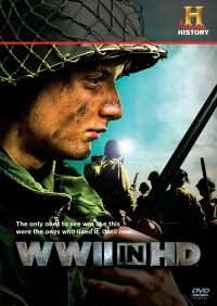 WWII in HD poster