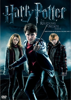 Harry Potter and the Deathly Hallows: Part I Dvd cover
