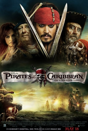 Pirates of the Caribbean: On Stranger Tides 800x1185