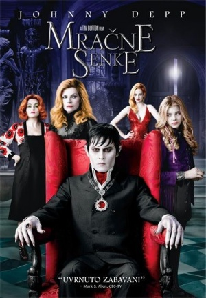 Dark Shadows Dvd cover