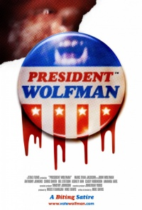 President Wolfman poster