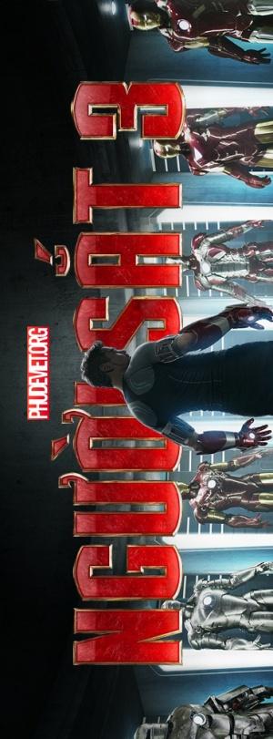 Iron Man Three 370x1000