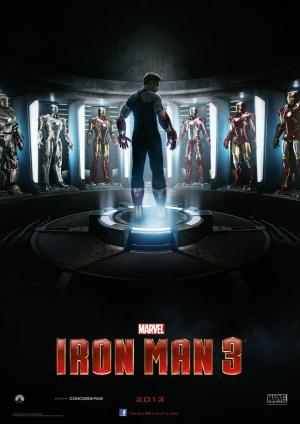 Iron Man Three 990x1400