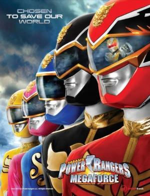 Power Rangers Megaforce 707x920