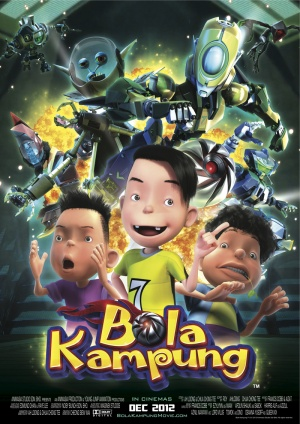 Bola Kampung: The Movie Poster