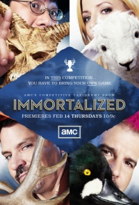 Immortalized poster
