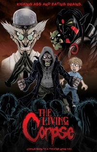 The Amazing Adventures of the Living Corpse poster