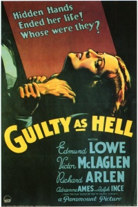 Guilty as Hell poster