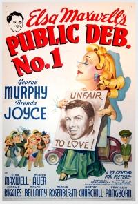 Public Deb No. 1 poster
