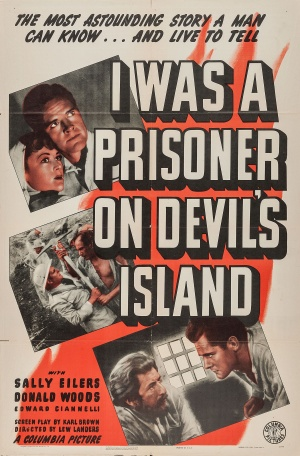 I Was a Prisoner on Devil's Island Poster