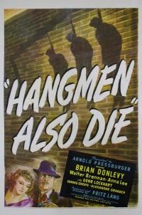 Hangmen Also Die! poster