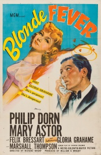 Blonde Fever poster