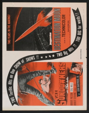 Destination Moon Combo poster