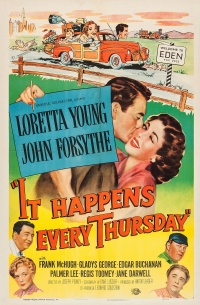It Happens Every Thursday poster