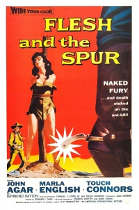 Flesh and the Spur poster