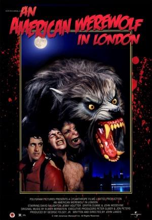 Un hombre lobo americano en Londres 800x1157