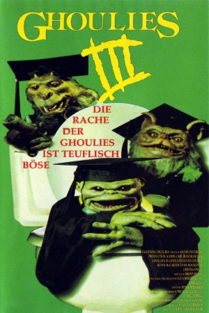 Ghoulies III: Ghoulies Go to College 1000x1500