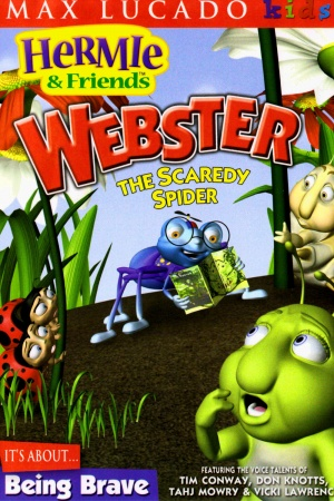 Hermie & Friends: Webster the Scaredy Spider 1000x1500