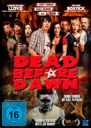 Dead Before Dawn 3D Dvd cover