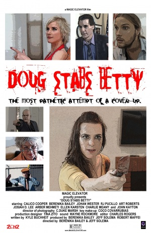 Doug Stabs Betty Poster