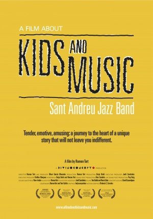 A Film About Kids and Music. Sant Andreu Jazz Band Poster