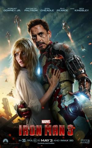 Iron Man Three 1280x2048