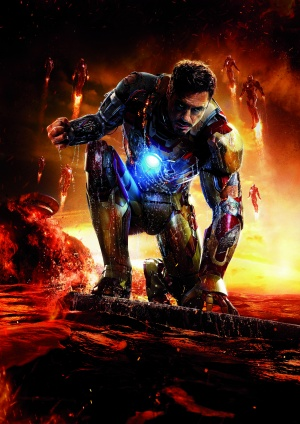 Iron Man Three 3508x4961