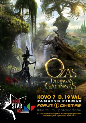 Oz the Great and Powerful 640x914