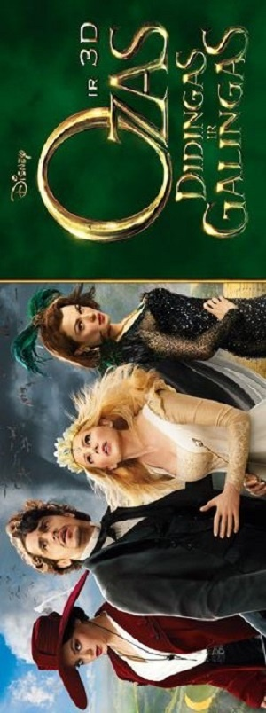 Oz the Great and Powerful 300x804