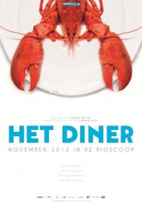 Het diner poster