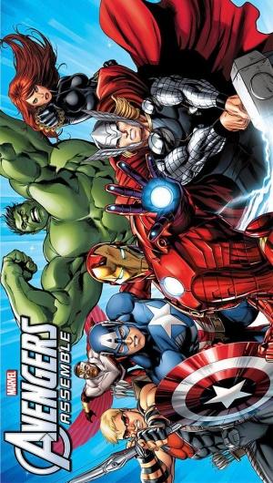 Avengers Assemble 562x992