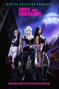 Chics with Chainsaw poster